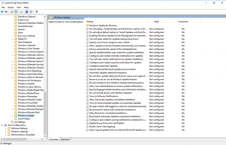 Click image for larger version.  Name:1709 Group Policy Windows Update.png Views:1 Size:130.1 KB ID:184185