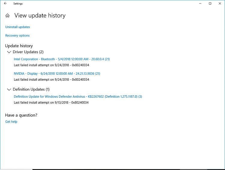 Windows Update fails with Error 0x80070015 - Windows 10 Forums