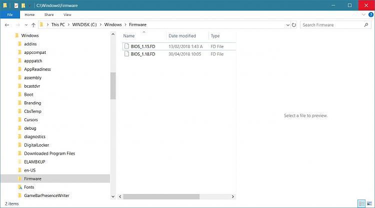 UEFI BIOS Update via Windows Updates? - Page 3 - Windows 10