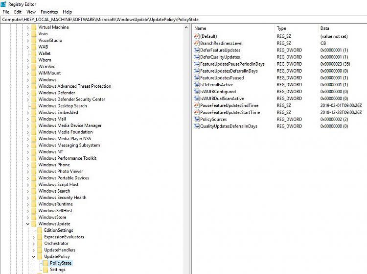 Can't update Windows 10 -