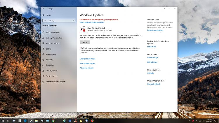 Problem Connecting to Windows Update - Windows 10 Forums