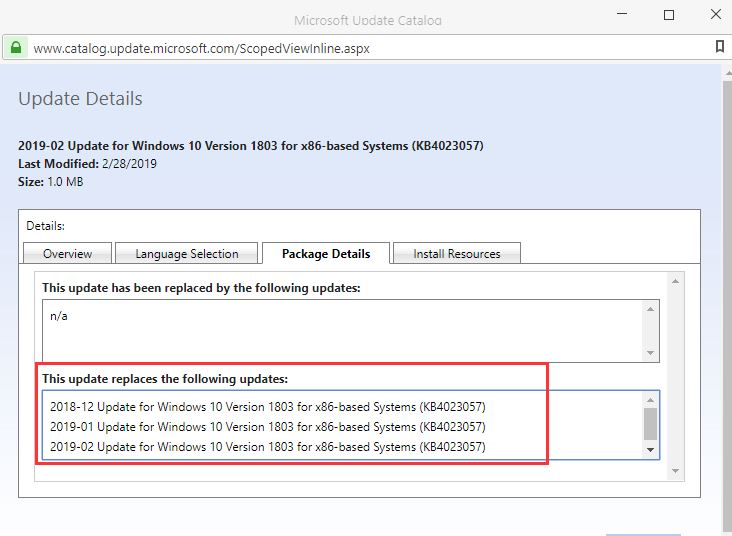Why is KB4023057 is installed several times? Solved - Windows 10 Forums