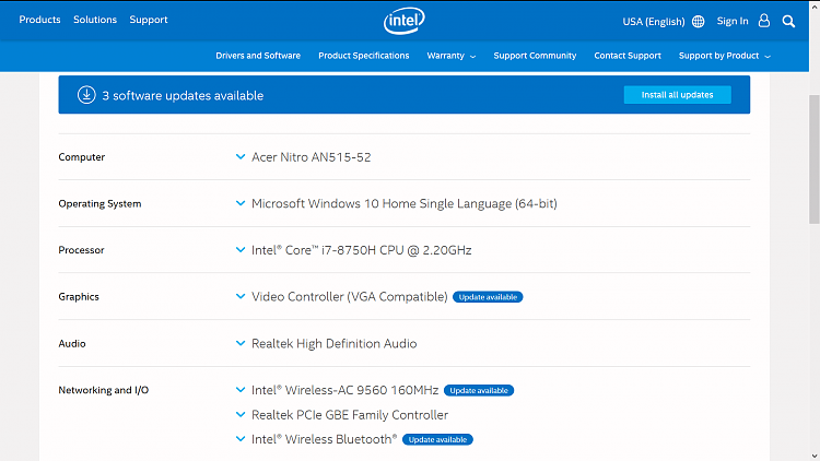 Botched updates of windows update in the list-intel-list-updtates.png