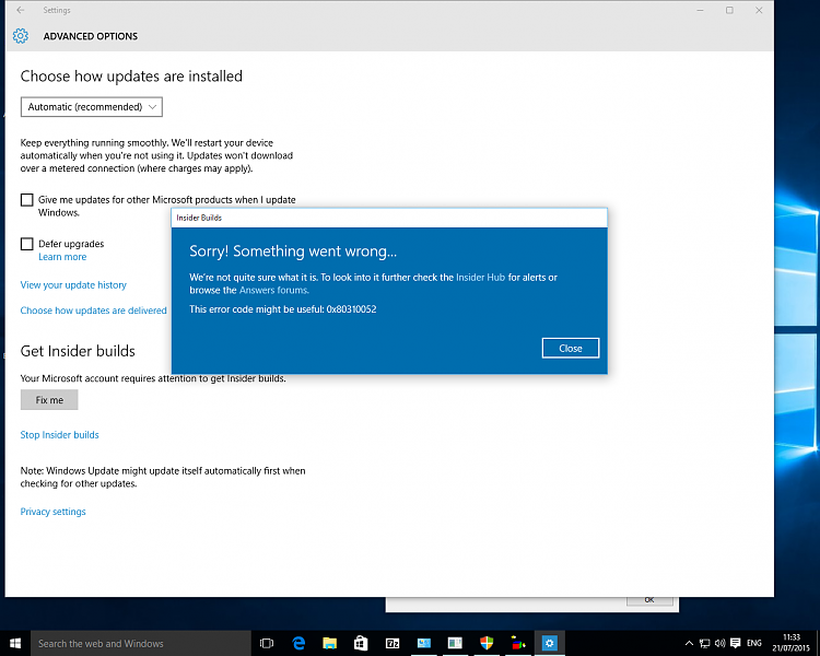 Ms defender updates from windows update fail other for Window defender update