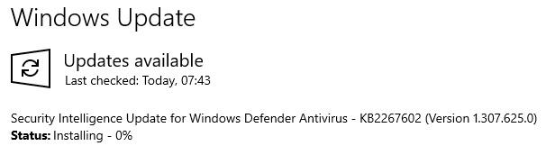 KB2267602 Windows Defender Update -- Is installing never > 0% Normal-191217.jpg