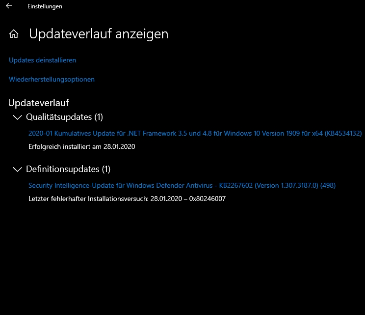 """Win 10 update history buggy after update installation getting """"stuck""""-buggy-history.jpg"""