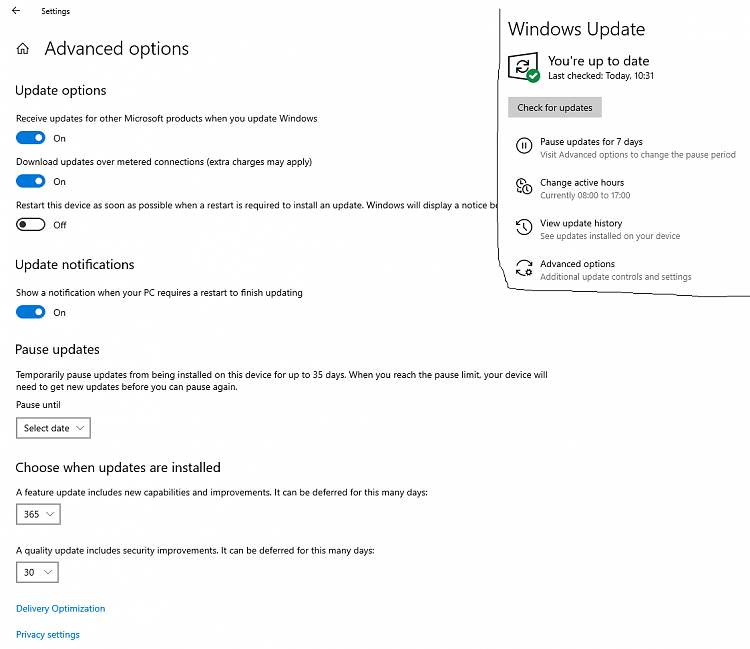 Windows updates empty for a long time now-1.png