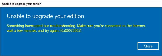 Upgrading Windows 10 Home to Pro with a Windows 7 key? - Windows 10 Forums