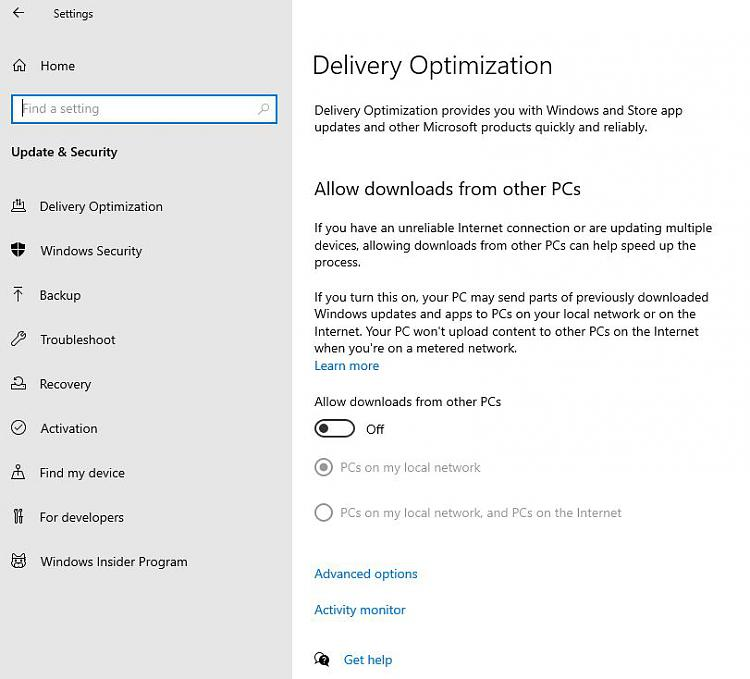 """Gone Missing: """"Updates & Security"""" - Replaced by """"Delivery Optimizati""""-201025-where-updates-security.jpg"""