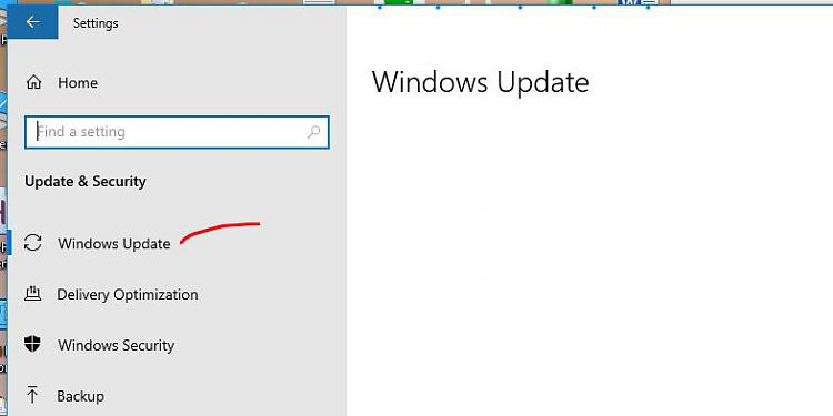 """Gone Missing: """"Updates & Security"""" - Replaced by """"Delivery Optimizati""""-201026-windows-update.jpg"""