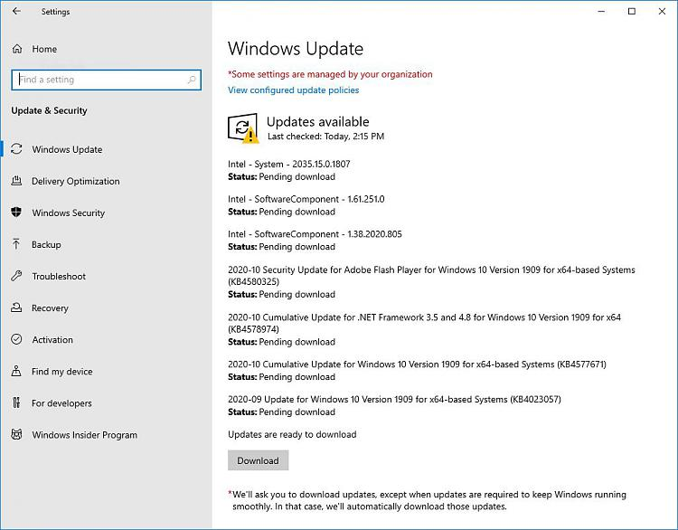 """Gone Missing: """"Updates & Security"""" - Replaced by """"Delivery Optimizati""""-201031-windows-update-back-settings.jpg"""