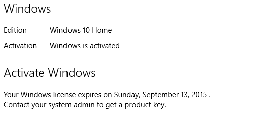 My windows 10 has an activation expiration date what to do solved click image for larger version name sdasdaasfg views 403 size ccuart Image collections