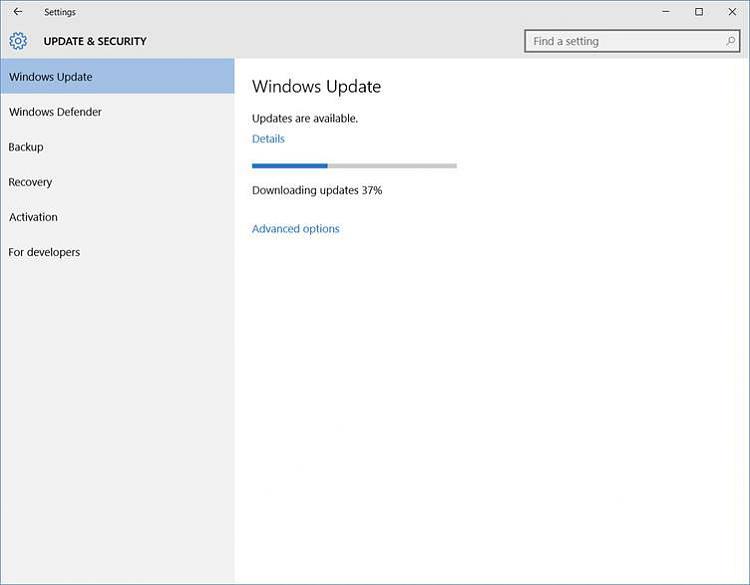 configuring windows updates stuck at 35 percent windows 7