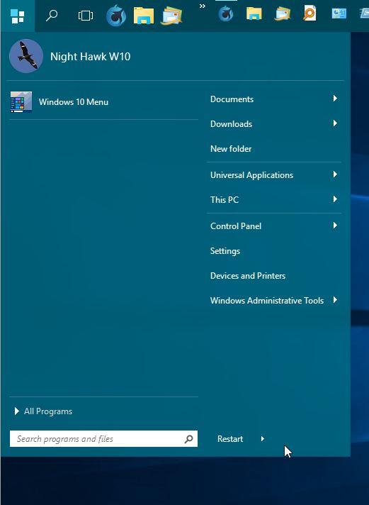 Click image for larger version.  Name:STARDOCK START MENU 10 ON W10.jpg Views:3 Size:37.0 KB ID:41117