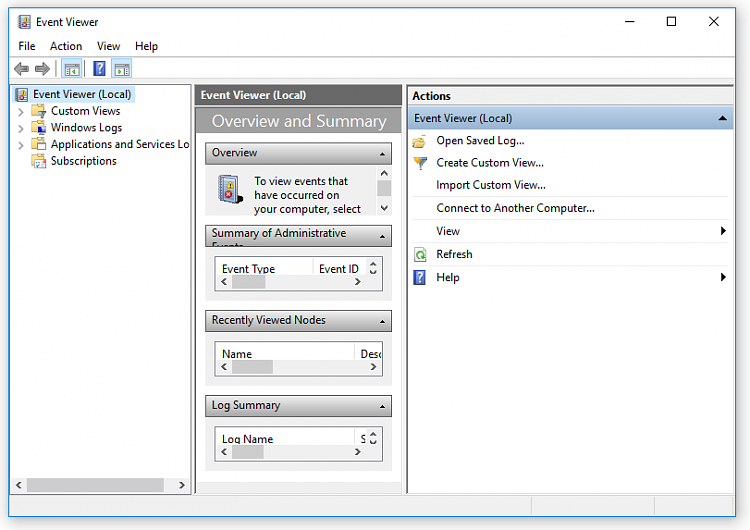 Click image for larger version.  Name:Event Viewer.PNG Views:3 Size:34.7 KB ID:48840