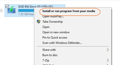 win 10 pro build 10240 hasn't received the November update build 1511-dvd-install-win-10.jpg