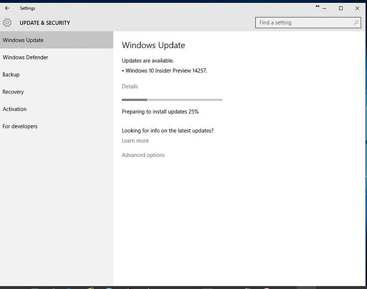 Click image for larger version.  Name:W10 Insider Preview 14257 Download.jpg Views:2 Size:51.3 KB ID:63580