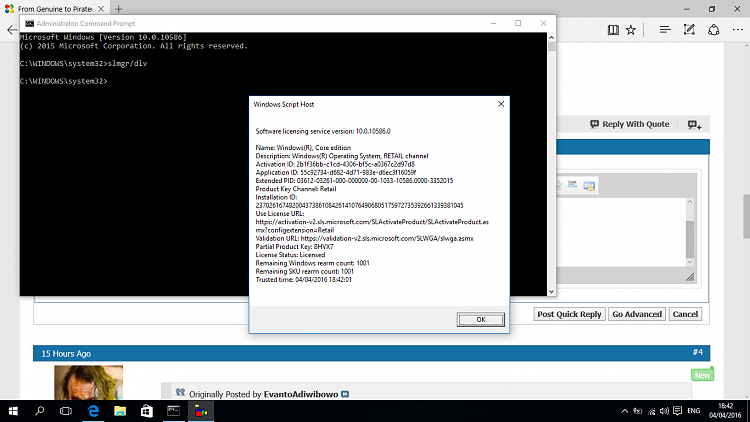 how to make pirated windows 10 genuine