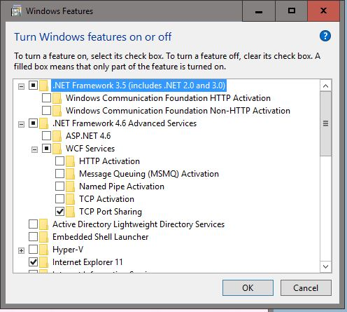 Click image for larger version.  Name:Windows Features.JPG Views:40 Size:55.9 KB ID:81271