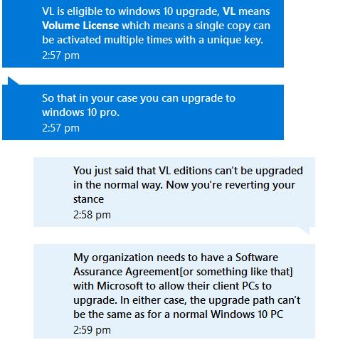 microsoft windows 10 professional volume license
