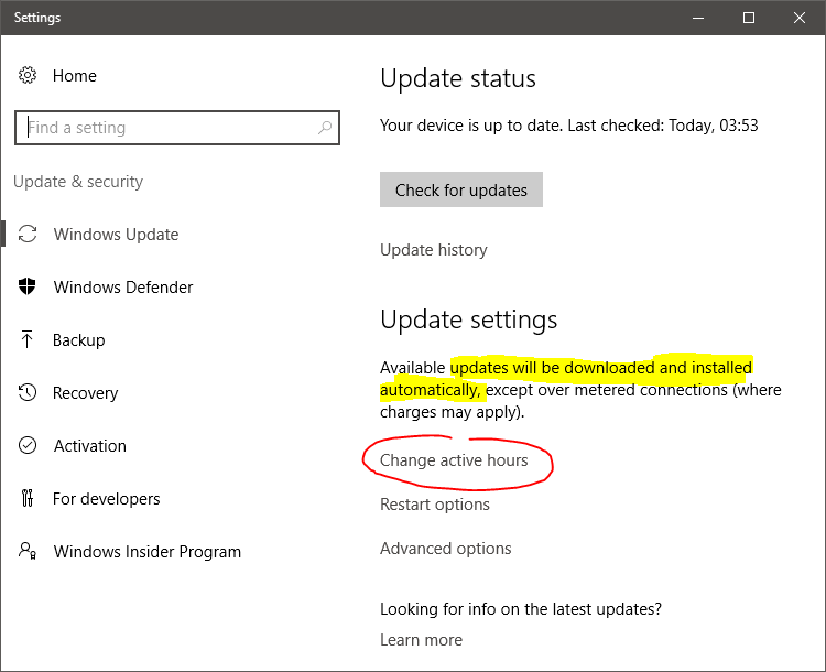 Win 10 Anniversary, automatic updates & Group Policy Settings Solved