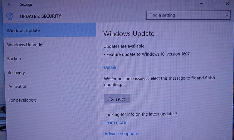 1607 update fail - You can't install windows on a USB flash drive ....-img_20160803_083709.jpg