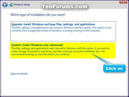 Click image for larger version.  Name:W10 Install choice box.JPG Views:11 Size:29.5 KB ID:94802