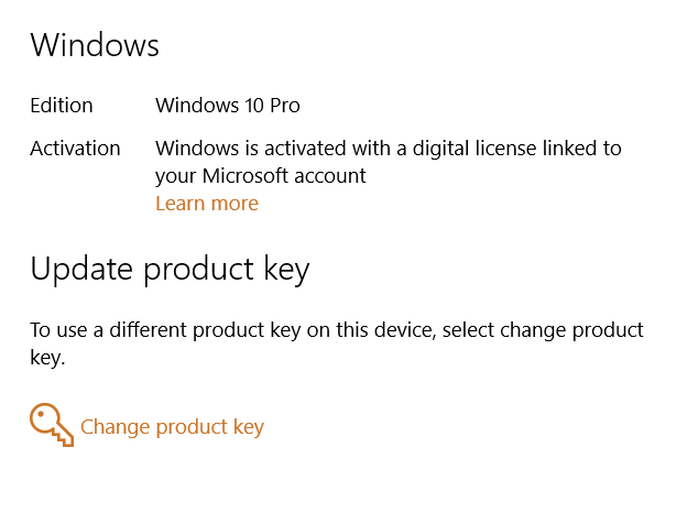 """Activation switched from """"with product key"""" to """"with Digital License""""-activated.png"""