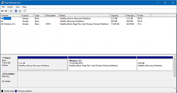 Click image for larger version.  Name:Disk mgmt after upgrade 1607.PNG Views:3 Size:29.6 KB ID:95793