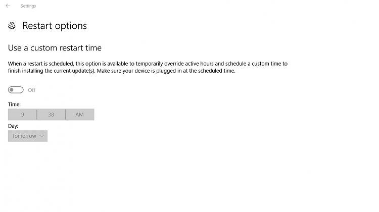 Click image for larger version.  Name:Windows update restart options page.jpg Views:5 Size:94.6 KB ID:98170