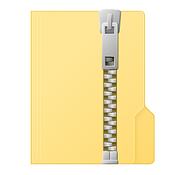 Change Send to Compressed (zipped) Folder Icon in Windows