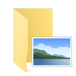 Undo:  Merged your Pictures folder with your User folder