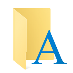 Install Fonts in Windows 10