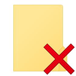 Empty Folder context menu - Add or Remove in Windows 10