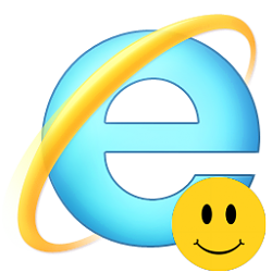Remove Internet Explorer Send Feedback Smiley Button