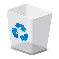 Recycle Bin in Navigation Pane - Add or Remove in Windows 10