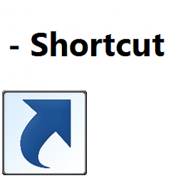 Shortcut Name Extension - Turn On or Off in Windows 10