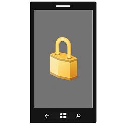 Device Encryption - Turn On or Off for Windows 10 Mobile Phone
