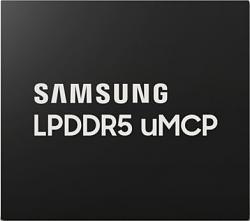 Samsung begun mass production of LPDDR5 uMCP smartphone memory