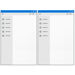 Show Windows Side by Side in Windows 10