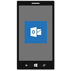 Hide Sender Pictures in Outlook Mail on Windows 10 Mobile Phone