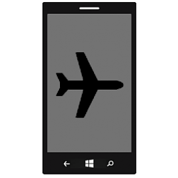 Turn On or Off Airplane Mode on Windows 10 Mobile Phone