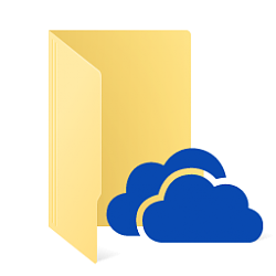 Change Location of OneDrive Folder in Windows 10