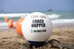 Google Grace Hopper subsea cable has landed in the UK