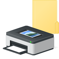 Create Printers Folder Shortcut in Windows