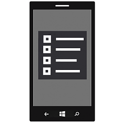 App - Reset on Windows 10 Mobile Phone