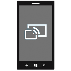 Connect to Wireless Display with Miracast on Windows 10 Mobile Phone