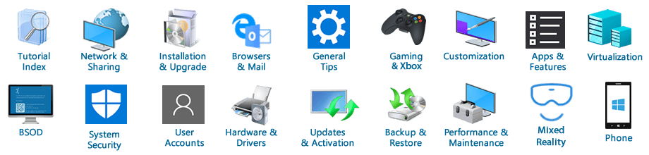Reinstall and Re-register Apps in Windows 10